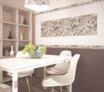 Плитка керамическая 'Amati Mocca' в интернет-магазине Идеальная Ванная: фото