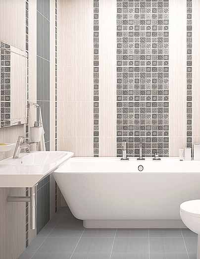Плитка керамическая 'Grazia Grey' в интернет-магазине Идеальная Ванная: фото