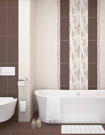 Плитка керамическая 'Harmonia Mocca' в интернет-магазине Идеальная Ванная: фото