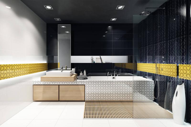 Плитка для ванной 'Spin' в интернет-магазине Идеальная Ванная: фото