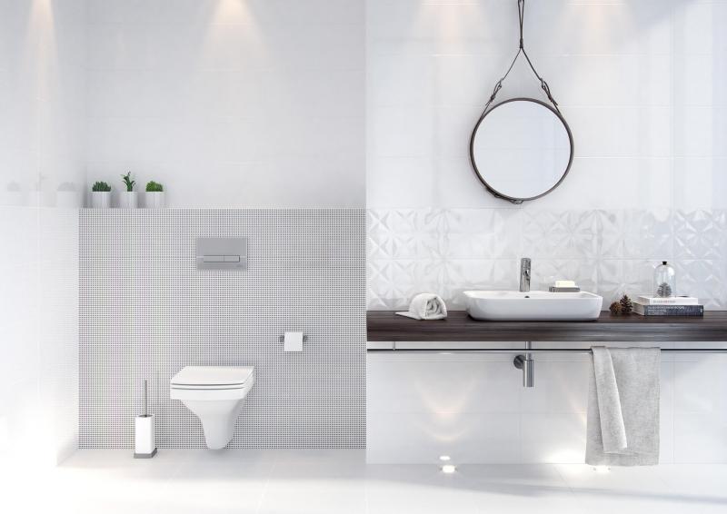 Плитка для ванной 'WHITE MAGIC' в интернет-магазине Идеальная Ванная: фото