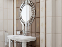Плитка для ванной 'Elissa MARRONE'