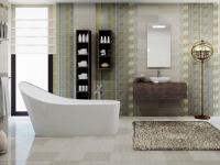Плитка для ванной. Коллекция 'Diana GRIGIO'