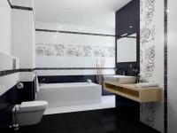 Плитка для ванной 'Splendida Negro'