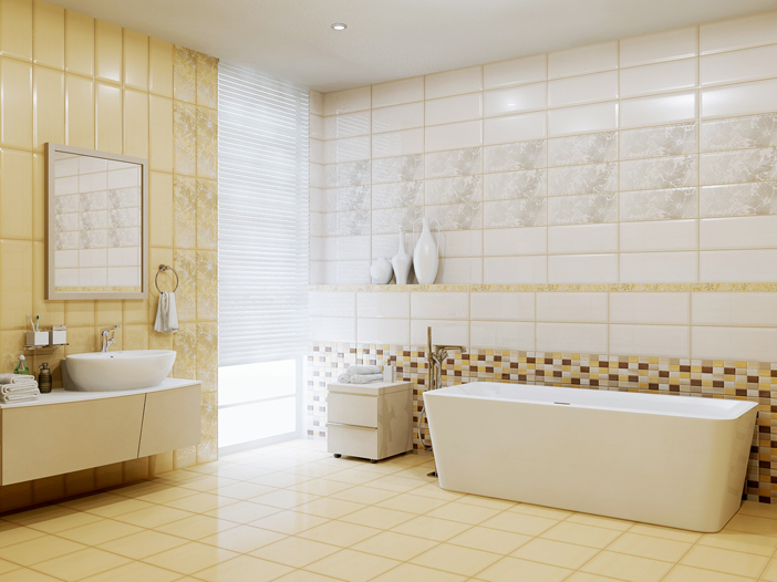 Плитка для ванной 'Elisa SABBIA'