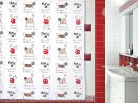 Занавеска для ванной 'Funny Cats'