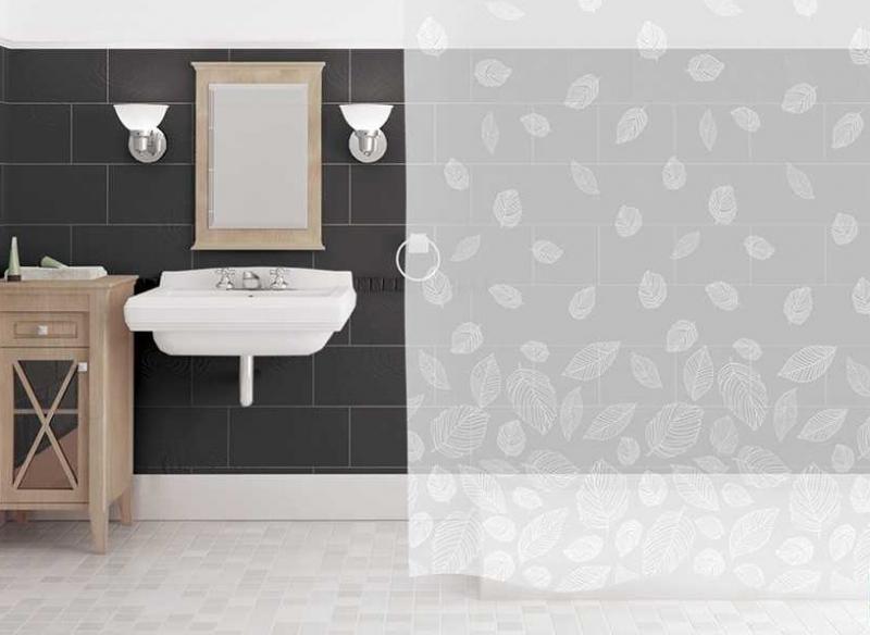 Занавеска для ванной 'Blanco' в интернет-магазине Идеальная Ванная: фото