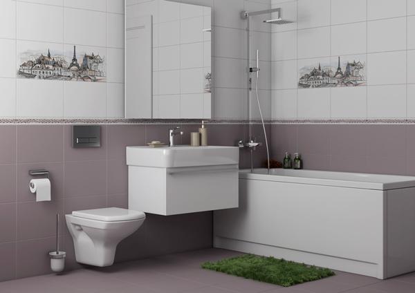 Плитка для ванной 'Eifel' в интернет-магазине Идеальная Ванная: фото