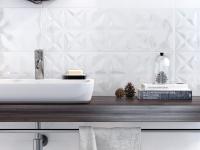 Плитка для ванной 'WHITE MAGIC' №1