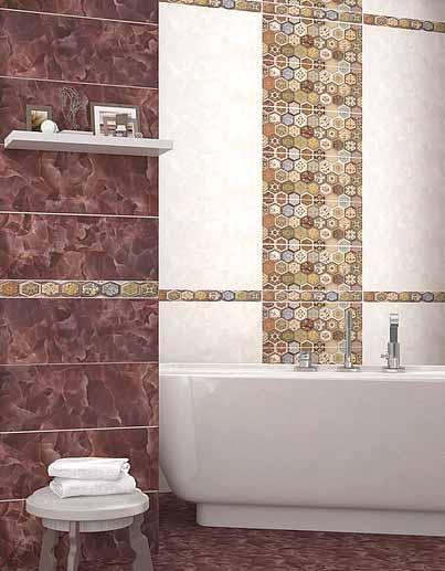 Плитка керамическая 'Navarra Mocca' в интернет-магазине Идеальная Ванная: фото
