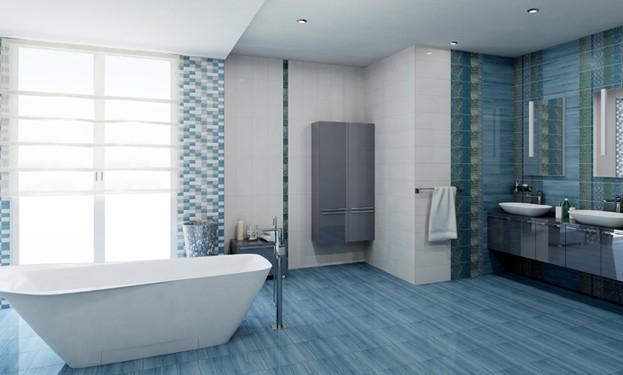 Плитка для ванной. Коллекция 'Diana ACQUA' в интернет-магазине Идеальная Ванная: фото