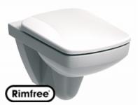 Унитаз подвесной 'Special' безободковый с сиденьем микролифт №1