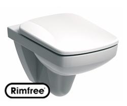 Унитаз подвесной 'Special' безободковый с сиденьем микролифт в интернет-магазине Идеальная Ванная: фото