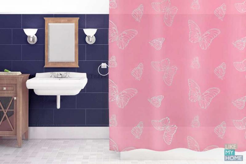 Занавеска для ванной 'Summer' в интернет-магазине Идеальная Ванная: фото