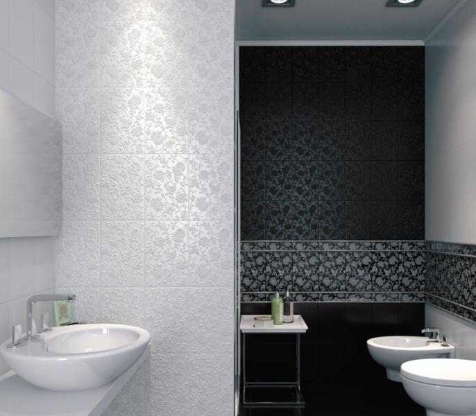 Плитка керамическая для ванной 'Аджанта' в интернет-магазине Идеальная Ванная: фото