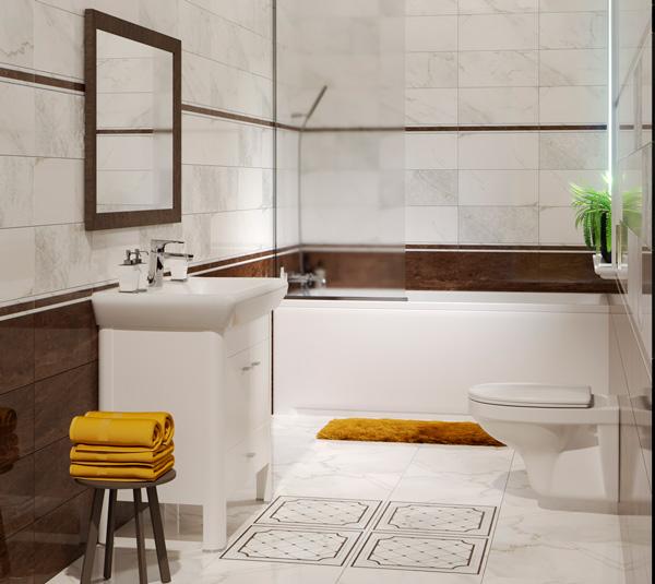 Плитка керамическая 'Capella' в интернет-магазине Идеальная Ванная: фото
