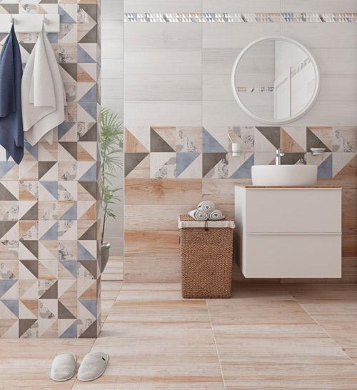 Плитка керамическая для ванной 'Vestanvind' в интернет-магазине Идеальная Ванная: фото