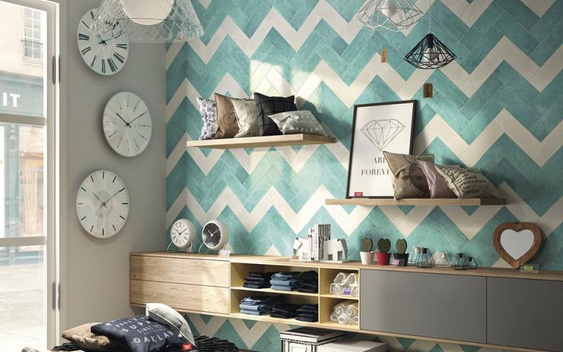Плитка керамическая 'Maiolica 10*30', 12 цветов в интернет-магазине Идеальная Ванная: фото 5