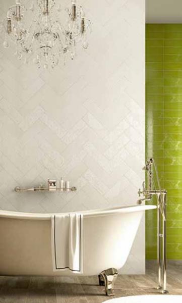 Плитка керамическая 'Maiolica 10*30', 12 цветов в интернет-магазине Идеальная Ванная: фото 2