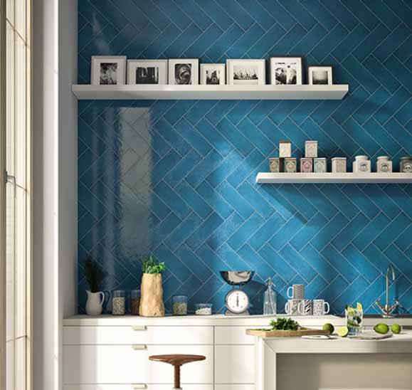 Плитка керамическая 'Maiolica 10*30', 12 цветов в интернет-магазине Идеальная Ванная: фото 3