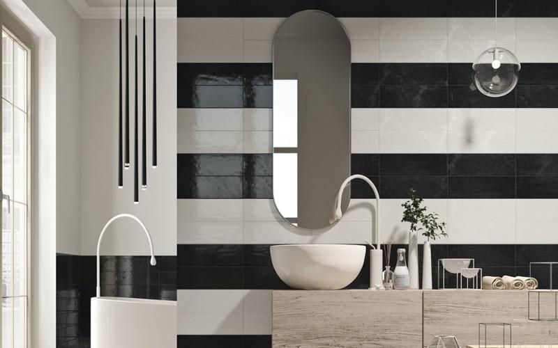 Плитка керамическая 'Maiolica 10*30', 12 цветов в интернет-магазине Идеальная Ванная: фото 6