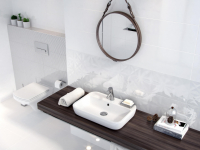 Плитка для ванной 'WHITE MAGIC' №3